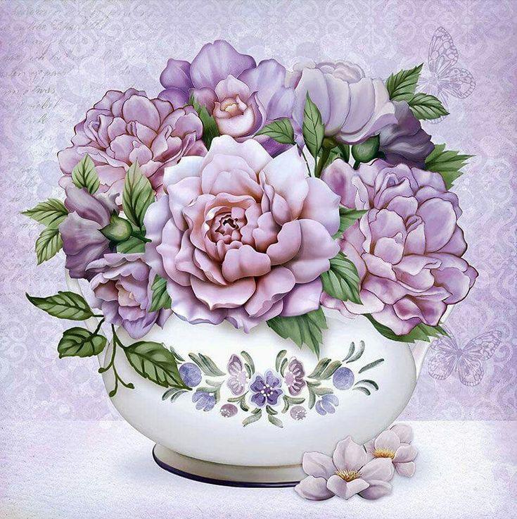 цветы для декупажа фото каблука может быть