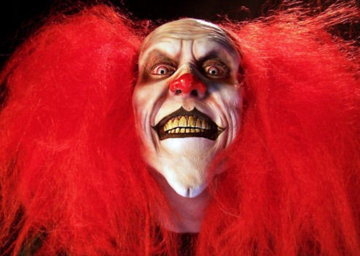 Ronald McDonald makes me nervous, but this......this makes me want to hide under my bed!