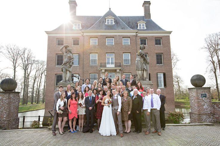 Family & friends! Dutch/Australian wedding, Amerongen, The Netherlands