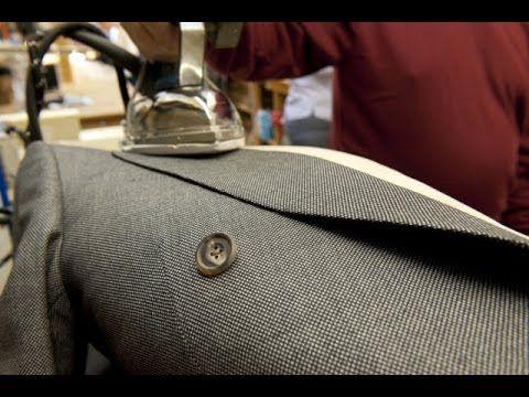 Мастер класс. Изготовление бортов в мужском пиджаке. - YouTube
