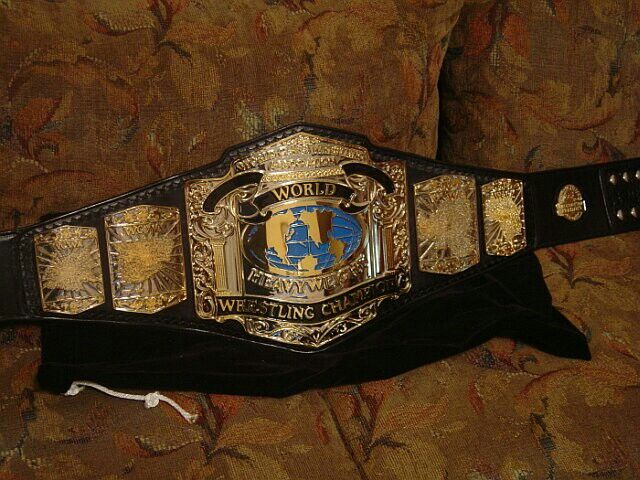 defunct promotion wccws title belt hermans wrestling