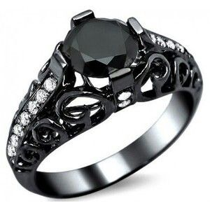Black gold ring! yes please