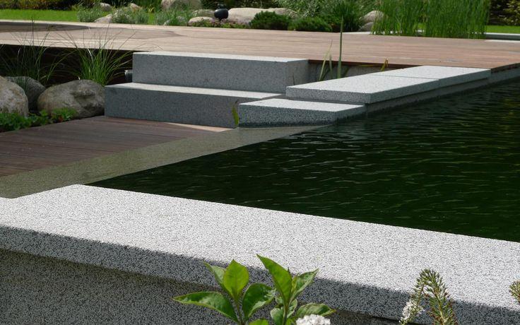 žulové desky, žulový vodní přepad, žulové schody, massaranduba / granite plates, granite water overflow, granite stairs, decking massaranduba