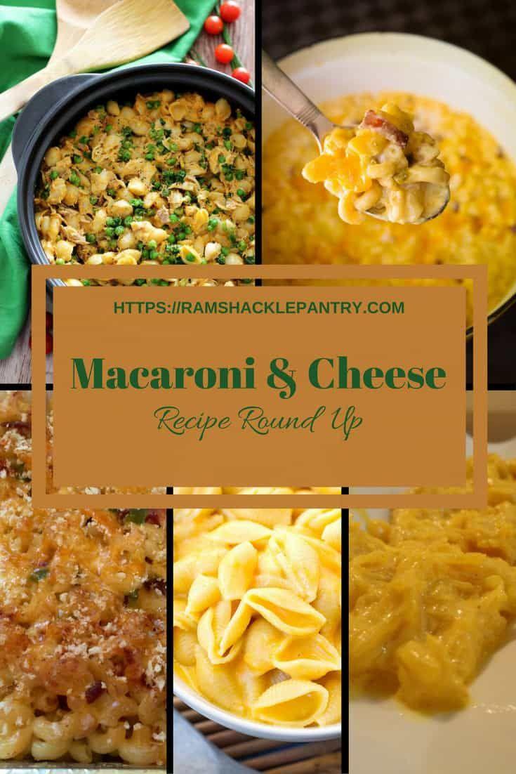 Macaroni And Cheese Recipe Roundup Pinterest Pasta En Koken