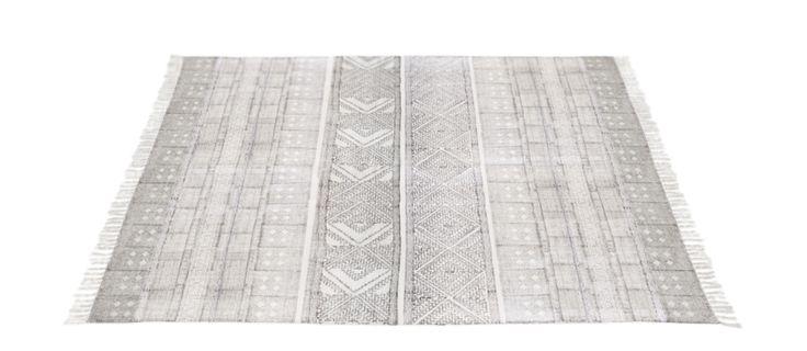 Spring är en härligt tunn kelimmatta i off white med charmigt oregelbundet mönster i svart. Välj mellan tre olika storlekar. Mönsterförändringar i mattan kan förekomma då de trycks för hand och då alla mattor inte är exakt i mått. Alla måtten är ungefärliga och kan vara +/- 5% i storlek.