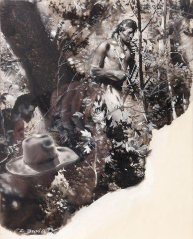 Burian Zdeněk (1905–1981) | Na válečné stezce, 1939 | Aukce obrazů, starožitností | Aukční dům Sýpka