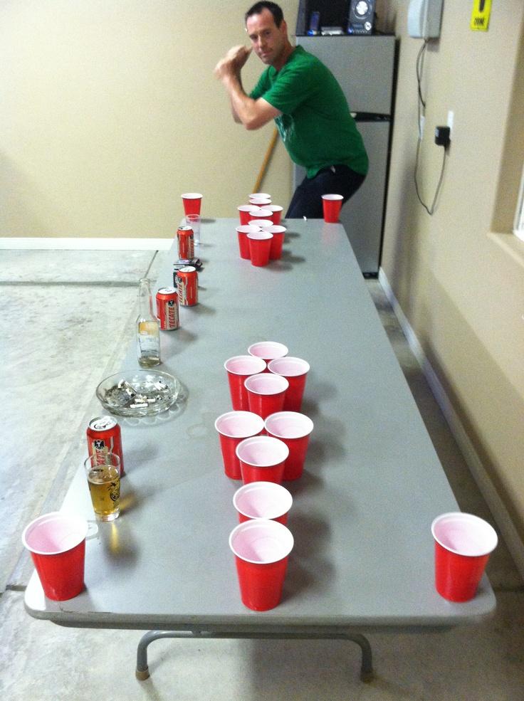 beer pong baseball drinking game
