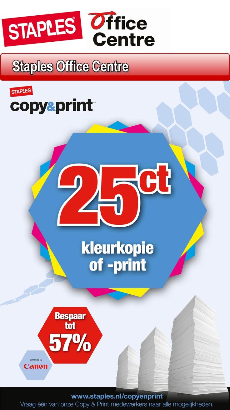 Staples Office Centre  Copy en print