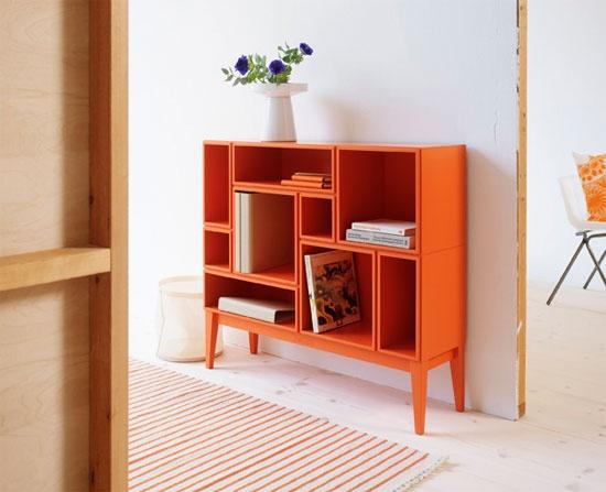 Oranje kast van Zweed