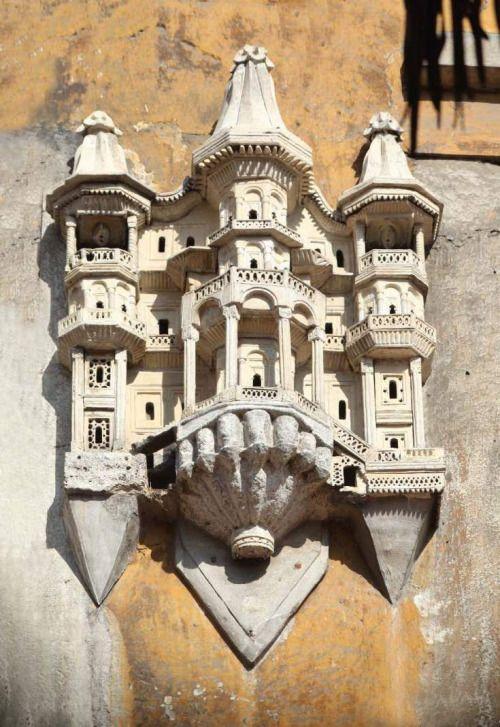 Osmanlı Kuş Evi - Ottoman Bird House on the Ayazma Mosque, Turkey