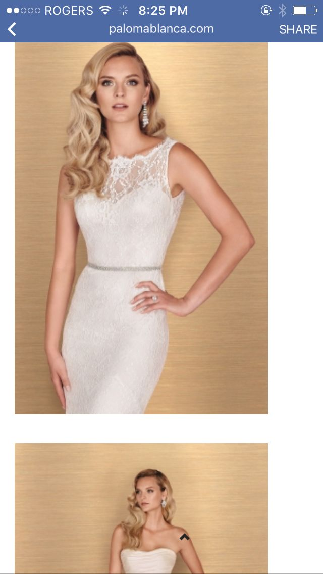 Nice style of wedding dress