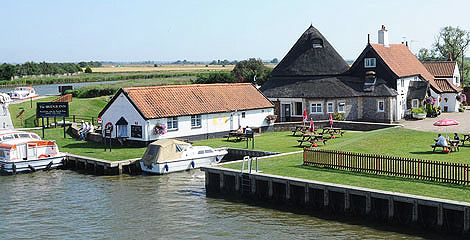 Bridge Inn, Acle Free mooring available if you are on a Herbert Woods boating holiday. http://www.herbertwoods.co.uk/norfolk-broads/places-to-eat/the-bridge-inn.php
