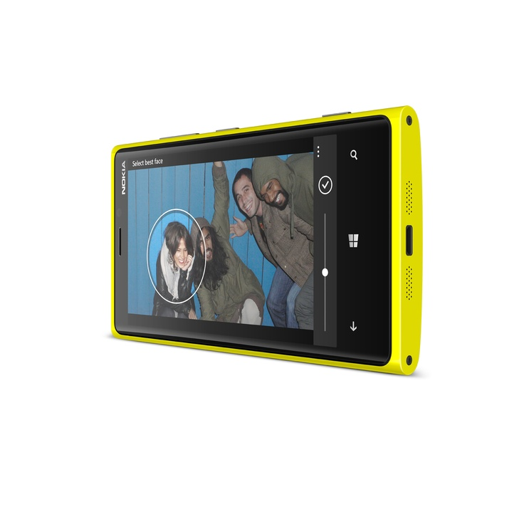 With Smart Group Shot on your Nokia Lumia 920, you'll be able to take multiple photos of your group and combine the best ones so everyone looks their best.