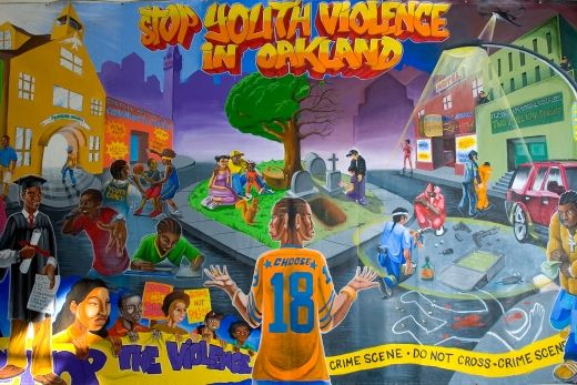 Youth UpRising mural