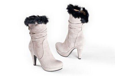 Orietta Mancini Ivory boots