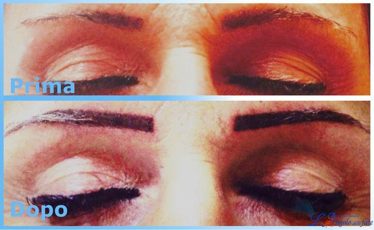 #sopracciglia perfette con il trucco semipermanente! L'Angolo delle Fate offre servizi di #Trucco #Semipermante: #tatuaggi per #contornolabbra, #eyeliner e sopracciglia effettuati da professionisti del settore!