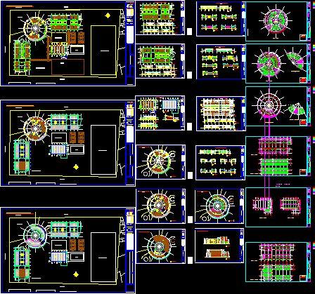 Génie civil et Travaux Publics Engineering Plan bloc autocad dwg: Collection inédites des Plans dwg