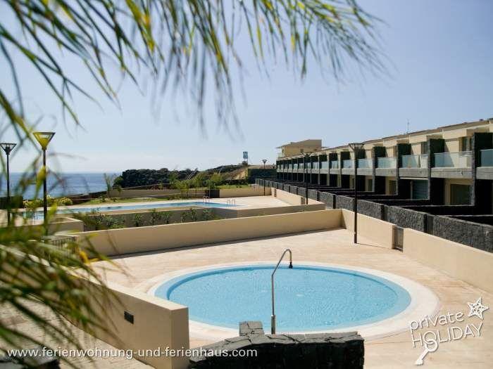 #Teneriffa Süd: Villen mit Pool toller Lage direkt am Meer in Amarilla #Golf