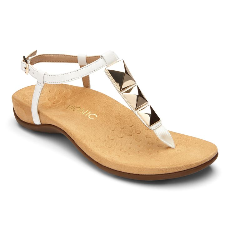 Vionic Nala: A chic t-strap with an element of boldness, the Nala's