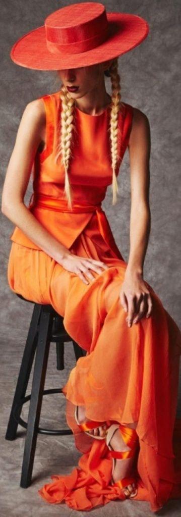 .orange hat