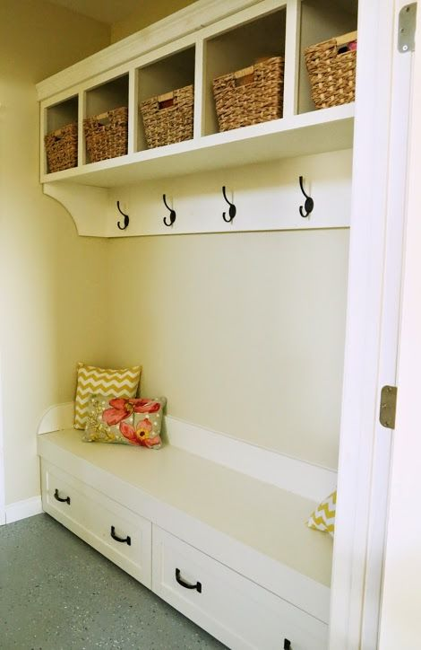 Mudroom 1 Organizer Http Ana White Com 2014 04 Plans