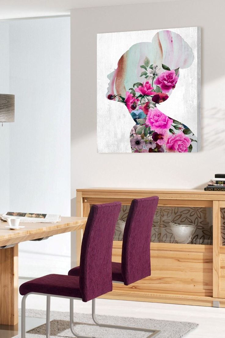 Oliver Gal Flower Built Canvas Wall Art on @HauteLook