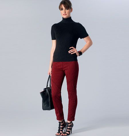 Sandra Betzina Misses' Seamed Pants, V1411 http://voguepatterns.mccall.com/v1411-products-48732.php?page_id=174