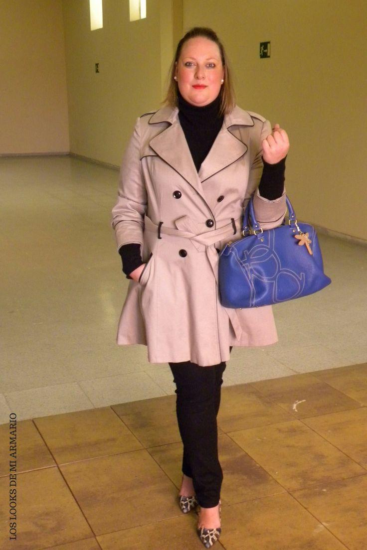 Trendy Curvy Look.TRENCH Y BOLSO PURIFICACION GARCIA #bolso #purificaciongarcia #jeansnegro #violetabymango #stilettospython #azul #trench #outfittallagrande #curvy #plussizecurve #personalshopper #curvygirl #loslooksdemiarmario #bloggermadrid #outfit #plussizeblogger #fashionblogger #influencer #trendy #bloggerXL