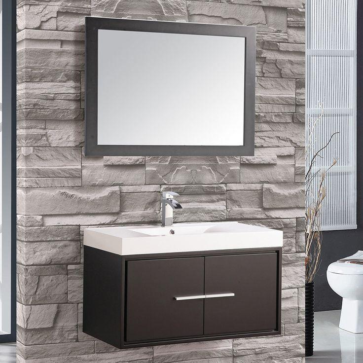 Mirrored Bathroom Vanity Toronto: 1000+ Ideas About Floating Bathroom Vanities On Pinterest