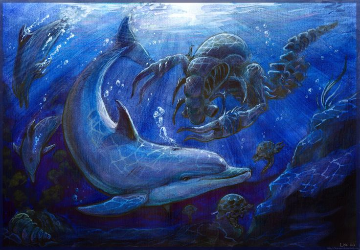 The Moon above the Dark Sea  Ecco the Dolphin - The Tides of Time