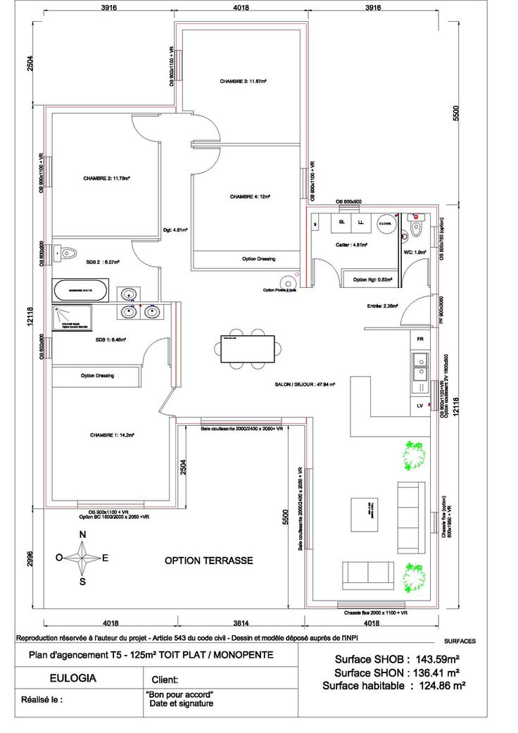 17 best ideas about plan maison plain pied on pinterest - Plan maison plein pieds ...