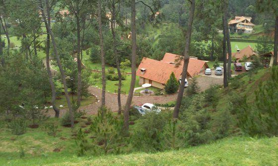 Mazamitla Hotel Bosque escondido