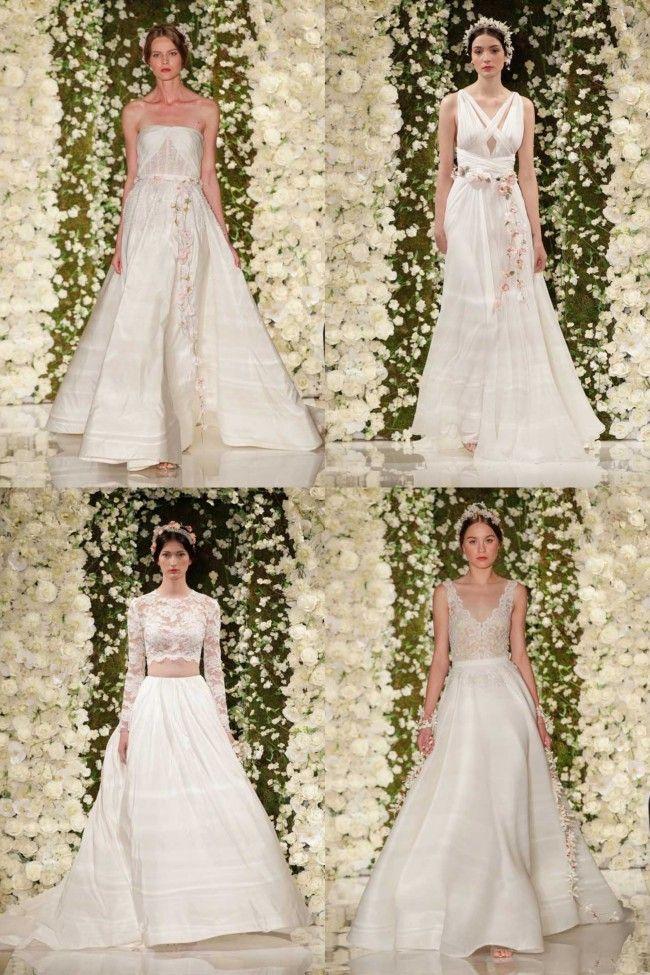 Reem Acra - bridal fashion week autumn 2015