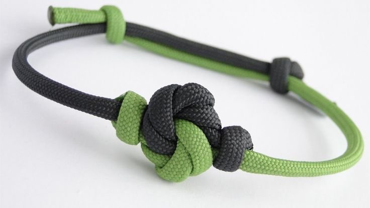 How to Make a Mandala Knot Paracord Sliding Knot Friendship Bracelet-