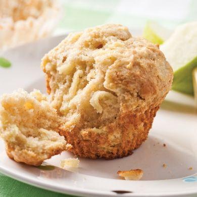 Muffins pommes-cheddar - Recettes - Cuisine et nutrition - Pratico Pratiques