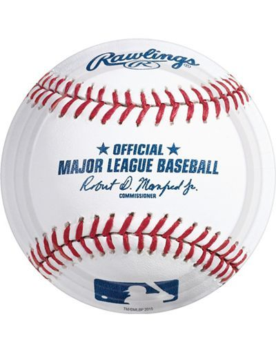 Rawlings Baseball Plates #PartyWithMLB