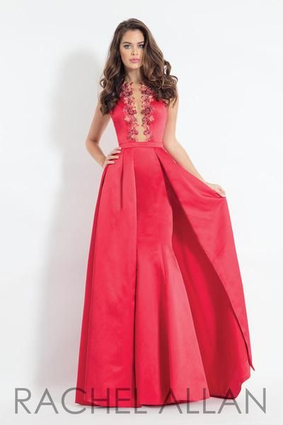 f5291c598db The Fabric In This Rachel ALLAN Prom Style Is Matte Satin Rachel Allan Prom