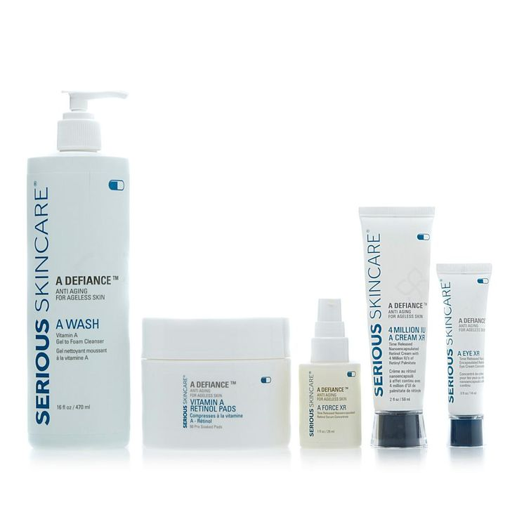 Serious Skincare by Jennifer Flavin-Stallone Serious Skincare A-Defy Power of Retinol - Over 40 Kit
