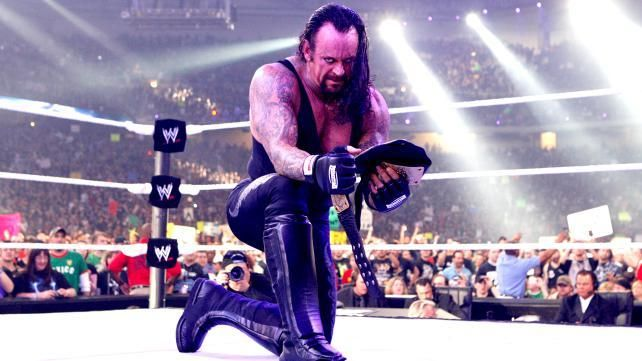 WWE legend The Undertaker made a surprise appearance on Sunday (Monday, Manila time) at the WWE Battleground event,