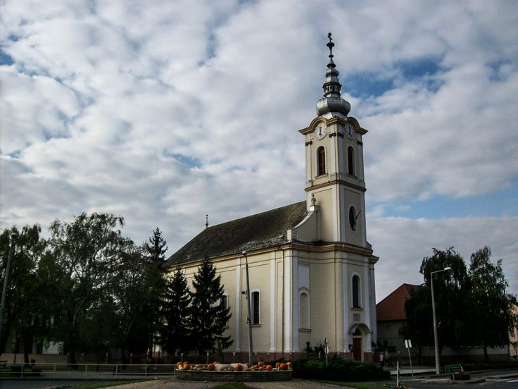 Evangélikus templom / Lutheran church (Soltvadkert, Bács-Kicskun, Great Plain)
