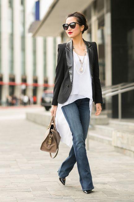 Para quem não precisa se vestir formalmente no trabalho, qual seria a melhor maneira de continuar bem vestida, mas sem ficar muito séria ou muito desp...
