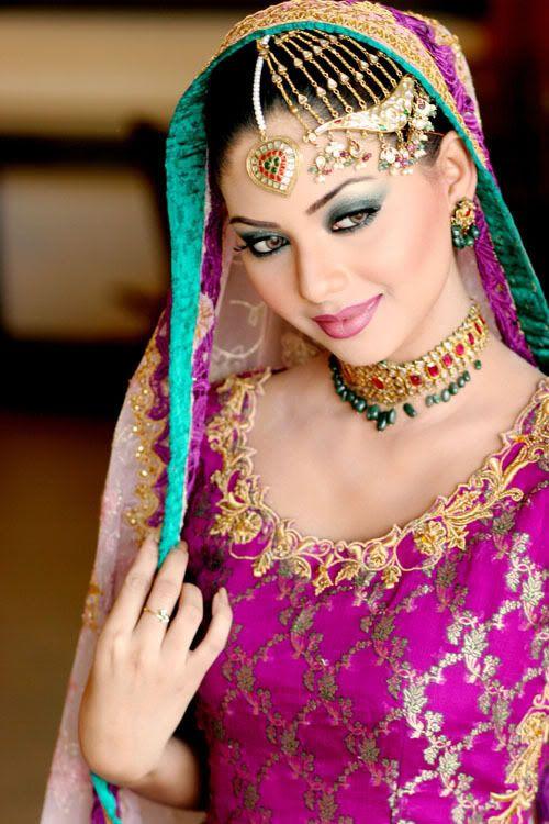 Beautiful Pakistani *Dhulan     *Bride*. Pakistani model and actress Sunita Marshal