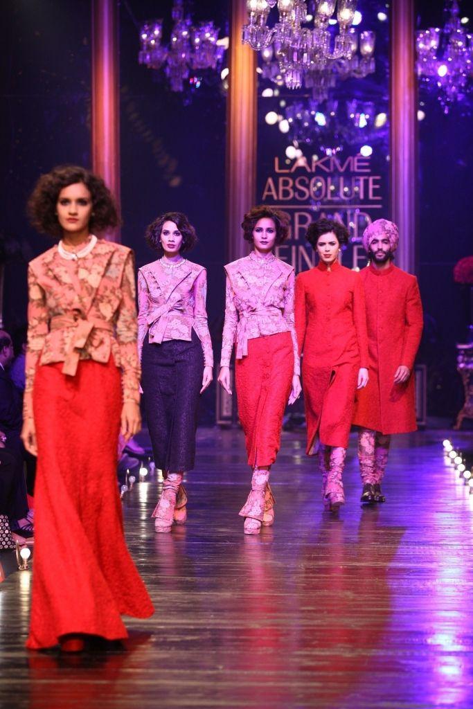 Best 18 LFW AW 2013 Day 5 : Sabyasachi Mukherjee images on ... Sabyasachi Lakme Fashion Week Winter Festive 2013