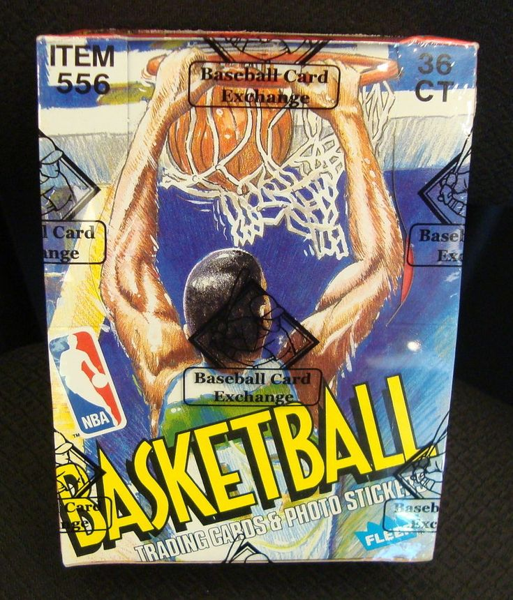 1989 fleer basketball sealed wax box bbce authenticated