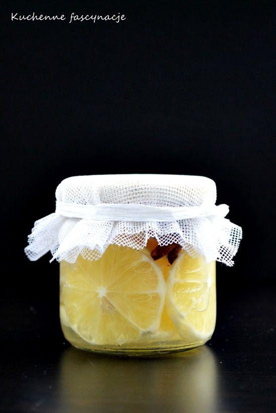 korzenne cytryny w syropie do herbaty