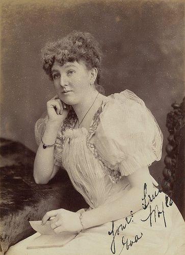 nice Eva Mylott, opera singer and paternal grandmother of Mel Gibson, ca. 1900 / J. Hubert Newman, French panel, 314 George St, late of Oxford St, Sydney