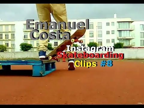 Emanuel Costa - Instagram Skateboarding Clips 8