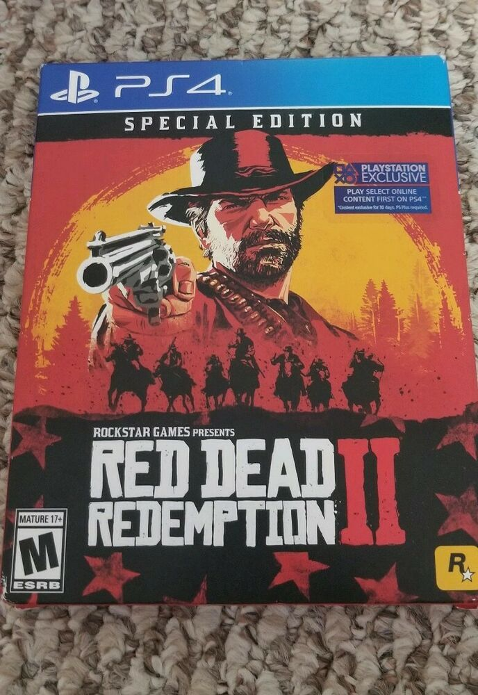 Red Dead Redemption 2 Special Edition Playstation 4 Reddeadredemption Gaming Xboxone Red Dead Redemption Red Dead Redemption Ii Xbox One