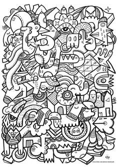 coloring pages for adults difficult - Google Search