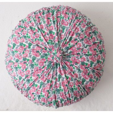 Rosette Cushion in Camellia